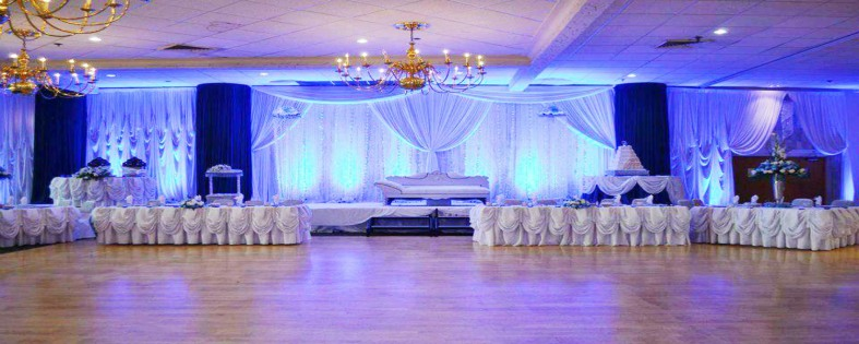 Gallery For gt Quinceanera Hall Decorations Blue
